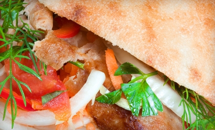 $10 for $20 Worth of Mediterranean Fare at Albasha Greek & Lebanese Restaurant