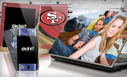 $15 for $30 Worth of Protective iPod, Laptop, and Phone Skins from Skinit.com