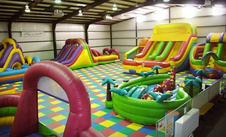 Four or Eight Open-Jump Sessions at Jump N Jungle