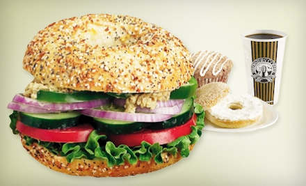 $5 for $10 Worth of Bagels, Sandwiches, and Breakfast Fare at Big Apple Bagels