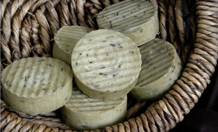 $12 for $25 Worth of Handmade Soap and Bodycare Products from Anhydrus