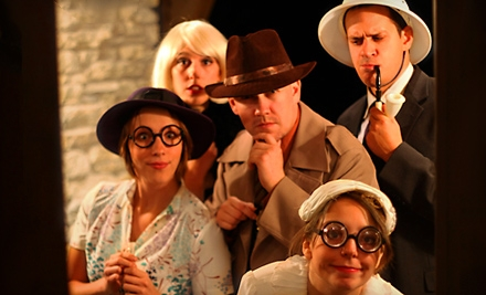 $25 for One Admission to a Murder-Mystery Dinner Show from The Murder Mystery Company in Grand Rapids ($55 Value)