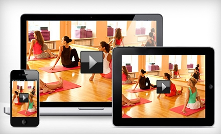 $15 for Three-Month Online-Fitness-and-Yoga-Application Membership from Yo-Fi Wellness ($44.85 Value)