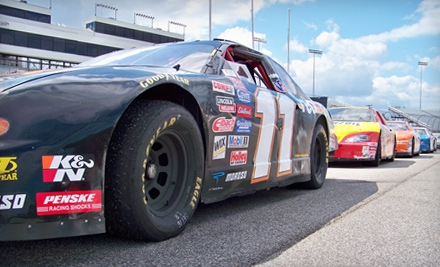 NASCAR-Style Ride-Along or Driving Experience from DriveTech Racing School