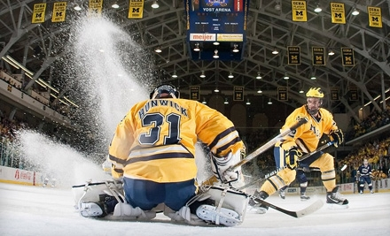 Two Tickets to a University of Michigan Hockey Game at Yost Ice Arena. Four Dates Available.
