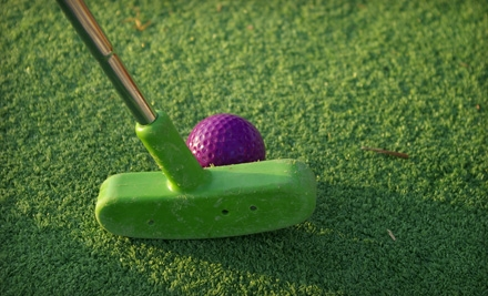 Mini-Golf Outing with Ice Cream for Two or Four at Scenic City Mini Golf