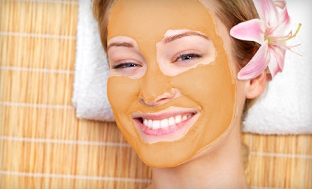 $39 for a Pumpkin Facial with an Enzyme Peel and Hydrating Mask at A Salon 7 ($80 Value)