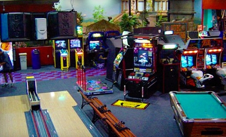 $36 for a Laser-Tag, Arcade, and Rock-Climbing Day for Four at Planet X ($74.99 Value)