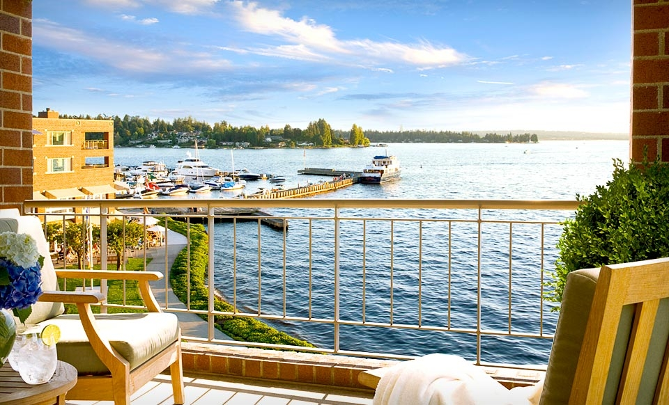 One-Night Stay for Up to Four in a Classic Room at the Woodmark Hotel in Greater Seattle
