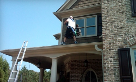 Window Cleaning or Pressure Washing from Window Genie. Two Options Available.