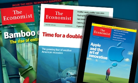 """Digital or Print Subscription to """"The Economist"""""""