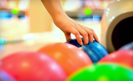 $20 for Bowling Outing and Shoe Rental for Five People at Center Bowl (Up to $41.25 Value)