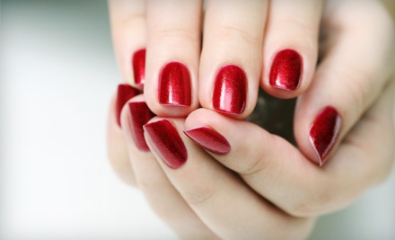 One or Three Signature Mani-Pedis at Magic Nails Spa