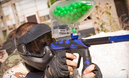 $15 for All-Day Paintball Outing with Unlimited Play, Equipment, and 200 Paintballs at Warpaint International ($30 Value)