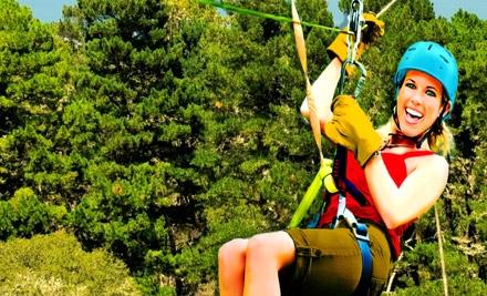 $30 for a 90-Minute Zipline Tour at Adventure Park at Five Oaks ($59.99 Value)