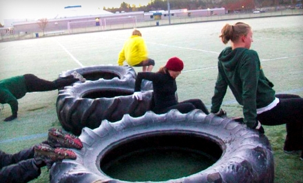 8 or 16 Boot-Camp Classes Plus 10-Day Meal Plan at Eugene Bootcamp