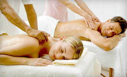 Couples' Massage, Mani-Pedi, or Haircut and Style at Serenity Mind Body Spa