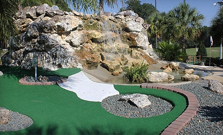 Sports Outing with Mini Golf, Driving Range, and Batting Cages for Two or Four at Tree Tops Golf