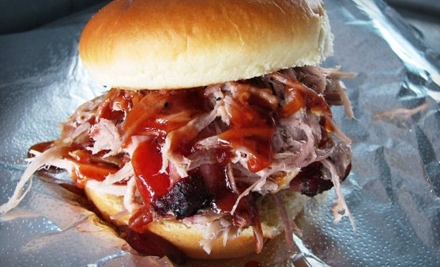 $10 for $20 Worth of Southern-Style Barbecue Fare at Phat Hatties Smokehouse BBQ