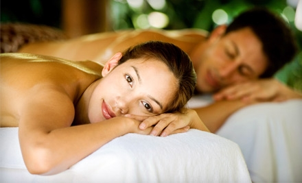 One-Hour Massage or One-Hour Couples Massage with Separate One-Hour Massage at Energia Massage