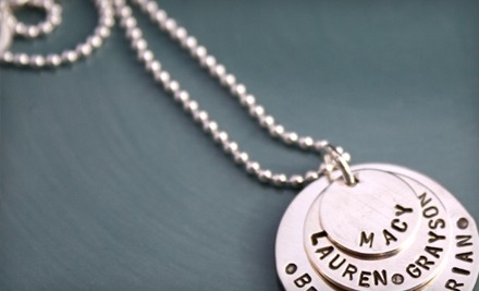 $25 for $50 Worth of Custom-Made Silver Charms from i declare!