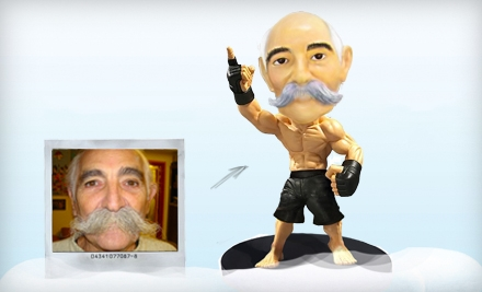 $30 for $60 Worth of Custom Mini Statues or Bobbleheads from 1MiniMe