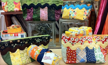 Introductory Sewing Class and Supplies for One or Two at Quilt Sampler