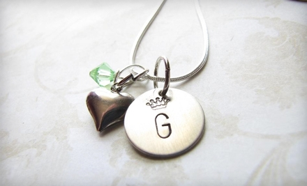 $17 for $35 Worth of Personalized Jewelry from Love Stamped