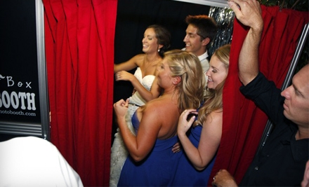 $599 for a Four-Hour Photo-Booth Rental from Thought Box Photobooth