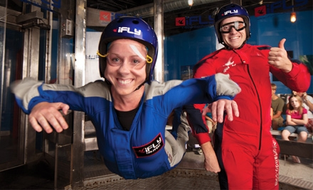 $37 for a Wind-Tunnel Flight and DVD at iFLY Orlando ($75 Value)