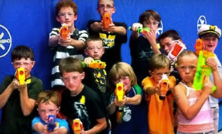 $10 for a One-Hour Nerf-Gun Battle for Four at Dart Zone ($20 Value)