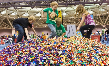 One Ticket to LEGO KidsFest at Connecticut Convention Center on December 2 or 4