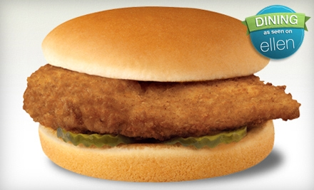 $3 for Two Original Chicken Sandwiches at Chick-fil-A in Cuyahoga Falls ($6.30 Value)