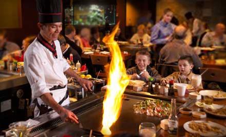 $25 for $50 Worth of Japanese Dinner Fare at Nagoya Japanese Steakhouse & Sushi