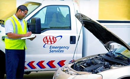 $29 for a One-Year Basic Roadside-Assistance Membership from AAA Carolinas ($59 Value)