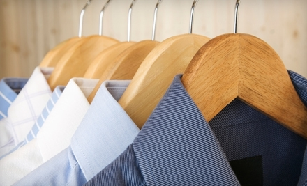 $10 for $20 Worth of Laundry and Dry-Cleaning Services at Master Cleaners