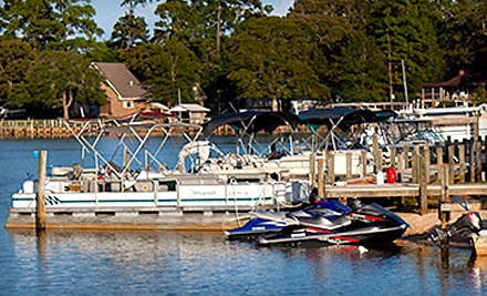 Pontoon-Boat Rental Package or Jet-Ski Rental with Two Fishing Poles and One Tube in Eutawville (Up to $170 Value)