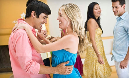 Four-Week Individual Dance Course or Couples Ballroom-Dance Course at Starlighters School of Dance