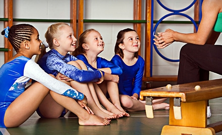 Five Drop-In Open-Gym Sessions or 90-Minute Gymnastics Birthday Party for Up to 15 Kids at Cage Gymnastics