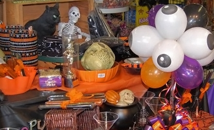 $7 for $15 Worth of Party Supplies, Decorations, and Halloween Costumes at Nobbies Party Superstore in Clive