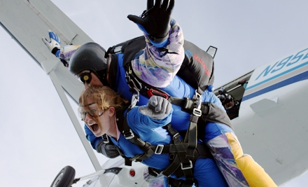 $119 for a Tandem Skydiving Jump from Start Skydiving in Coleman ($259 Value)