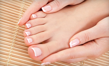 $19 for a Spa Manicure and Deluxe Pedicure from Gettin Polished in Oak Ridge