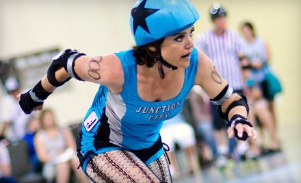 $10 for Two Tickets to Junction City Roller Dolls Doubleheader at Davis Conference Center in Layton on October 15 (Up to $20 Value)
