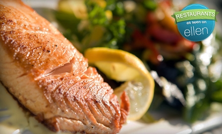 $10 for $20 Worth of Upscale Diner Fare at Empire Grill