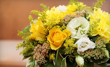 $25 for $50 Worth of Flower Arrangements at The Floral Cottage