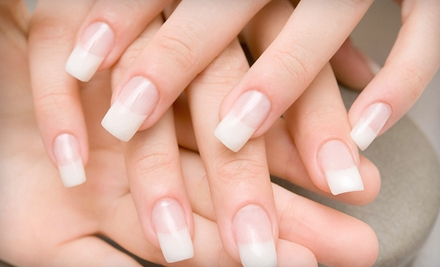 No-Chip Manicure, Almond-Milk Pedicure, or Mani-Pedi Package at Bliss Nail Spa (Up to 56% Off)