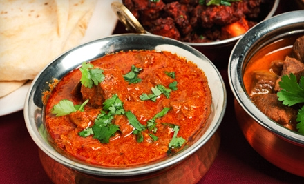 three course meals for two four or six at india garden restaurant in - India Garden Blacksburg