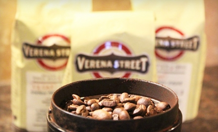 $14 for $30 Worth of Coffee from Verena Street Coffee Co.