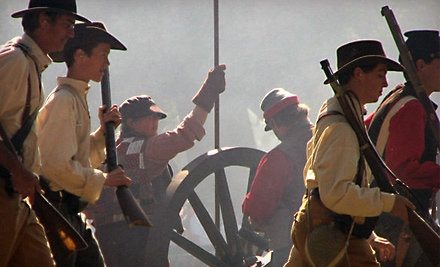 $10 for Admission for Two to Civil War Revisited from the Fresno Historical Society ($20 Value)