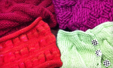 $15 for a Knitting 101 Three-Class Series at Knit Schtick in Costa Mesa ($30 Value)